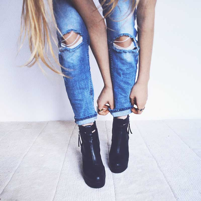 mujeres calzados díez